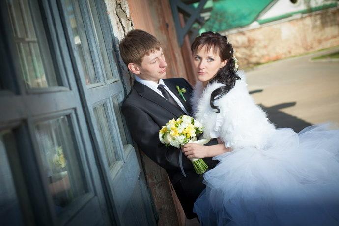 Ведущая на свадьбу в Ярославле Анна Шанель фото Анны и Алексея