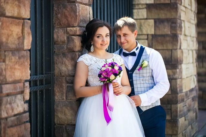 Ведущая на свадьбу в Ярославле Анна Шанель фото Анны и Даниила 2.09.2017