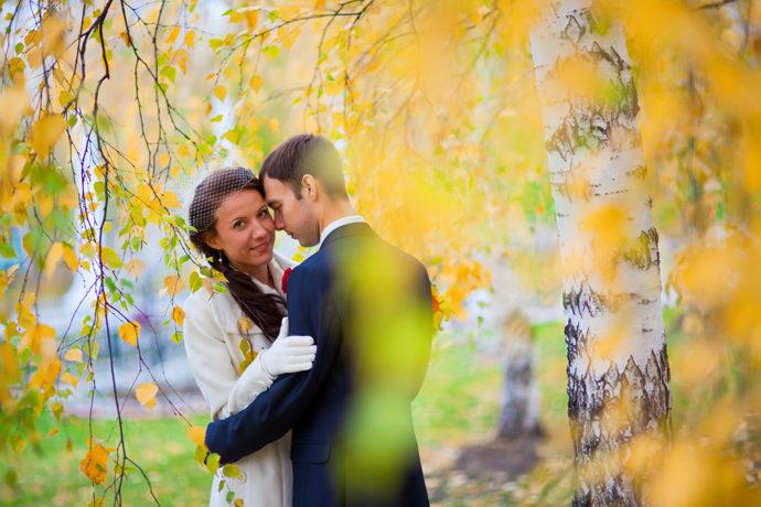 Свадьба в Ярославле октябрь 2011