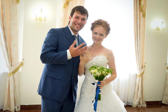 Ведущая на свадьбу в Ярославле Анна Шанель фото Анастасии и Ивана