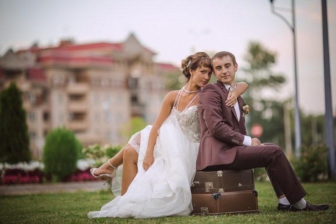 Тамада на свадьбу в Ярославле Анна Шанель фото Анастасии и Дениса